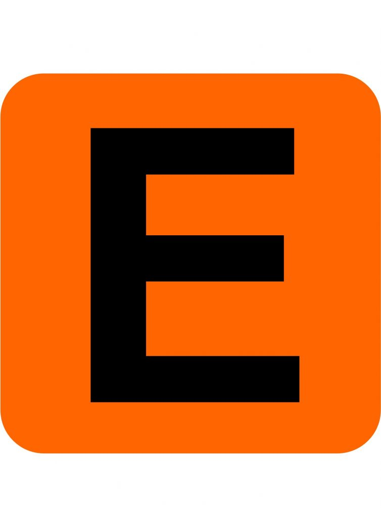 E is for